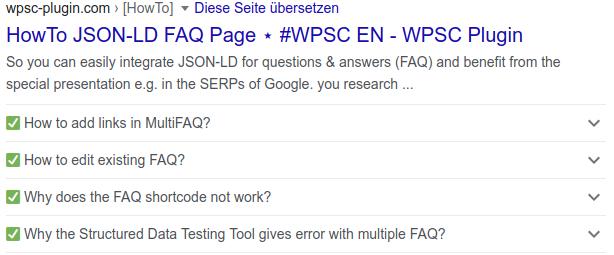 FAQ JSON-LD